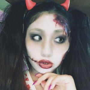 ハロウィン 血 メイク かわいい3