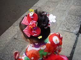 七五三 三歳 髪飾り 作り方1